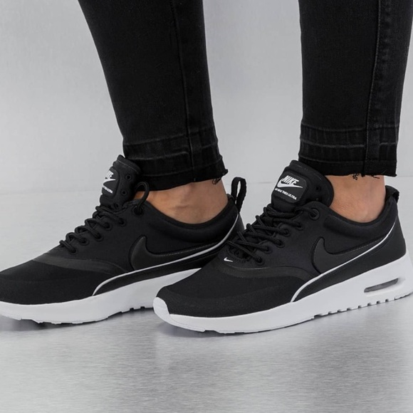 le scarpe nike air max thea ultra black poshmark femminili